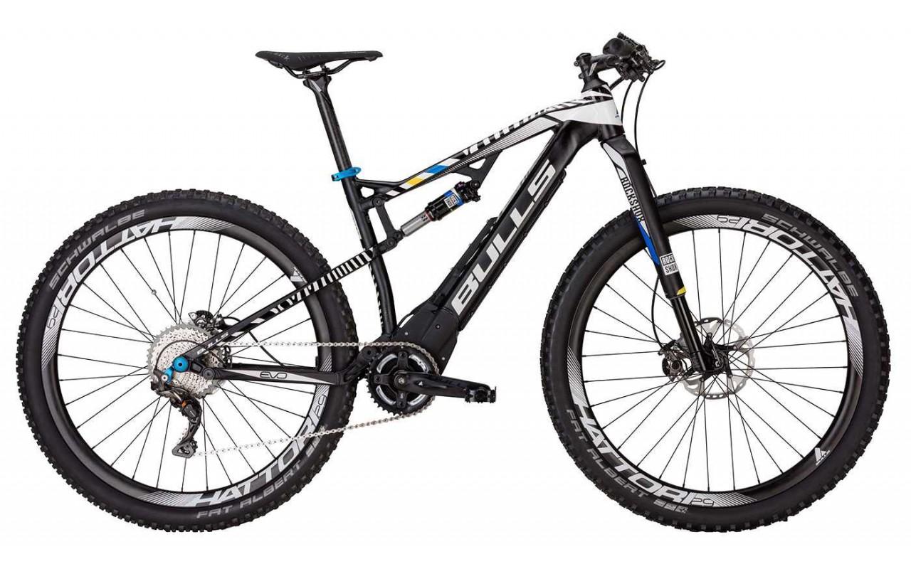 Велосипед двухподвес Bulls E-Stream EVO Zebra FS 29 (2017)