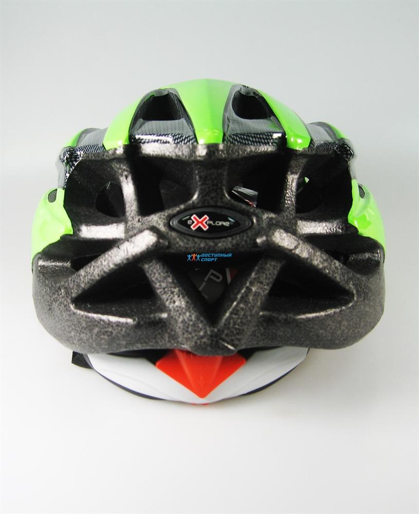 Велосипедный защитный шлем Explore Scorpion от Velogrand