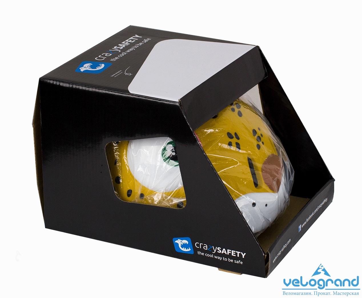 Защитный шлем леопард от Velogrand