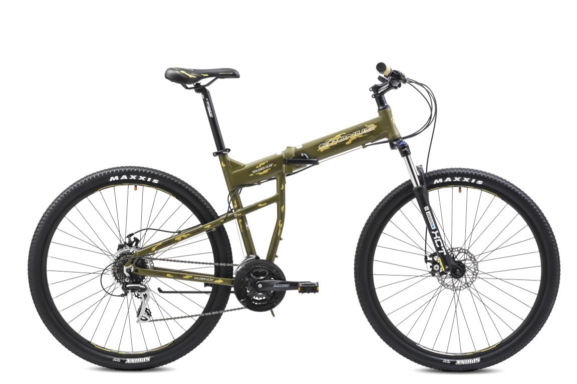 Складной велосипед Cronus SOLDIER 1.0 29 (2016) от Velogrand