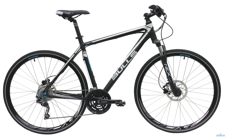 Городской велосипед Bulls Crosstail (2016), Цвет Черный, Размер 21
