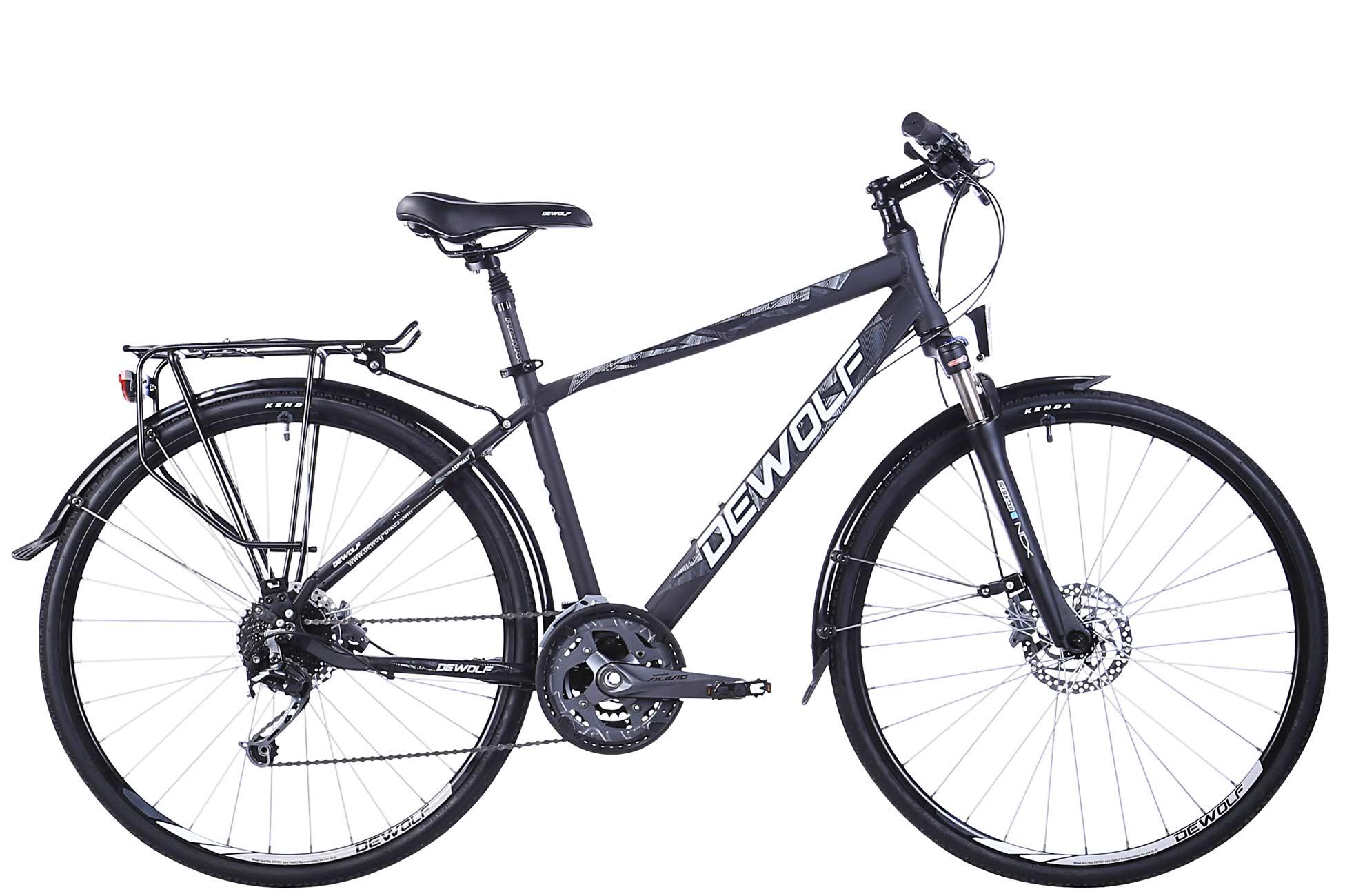 Городской велосипед DEWOLF Asphalt 1 (2016) от Velogrand