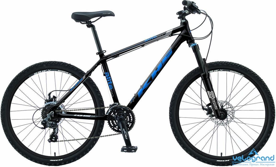 Горный велосипед KHS Alite 150 (2015), Цвет Черный, Размер 19