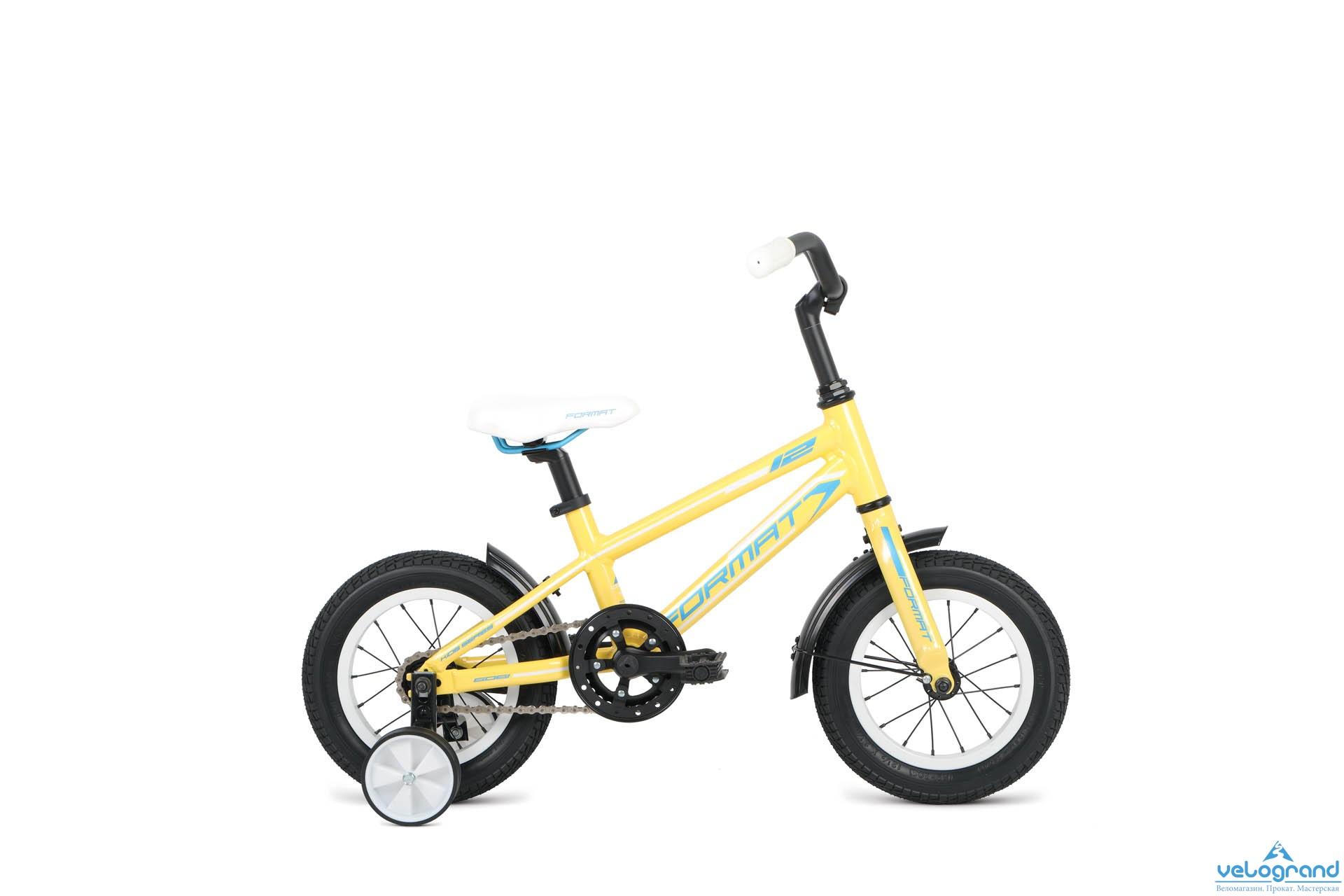 Детский велосипед Format Girl 12 (2016), Цвет Желтый