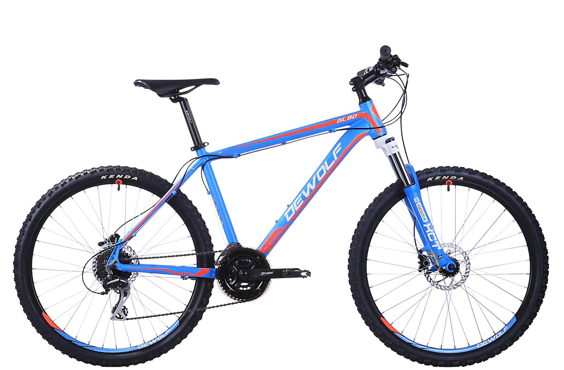Горный велосипед DEWOLF GL 80 (2016), Цвет Голубой, Размер 20