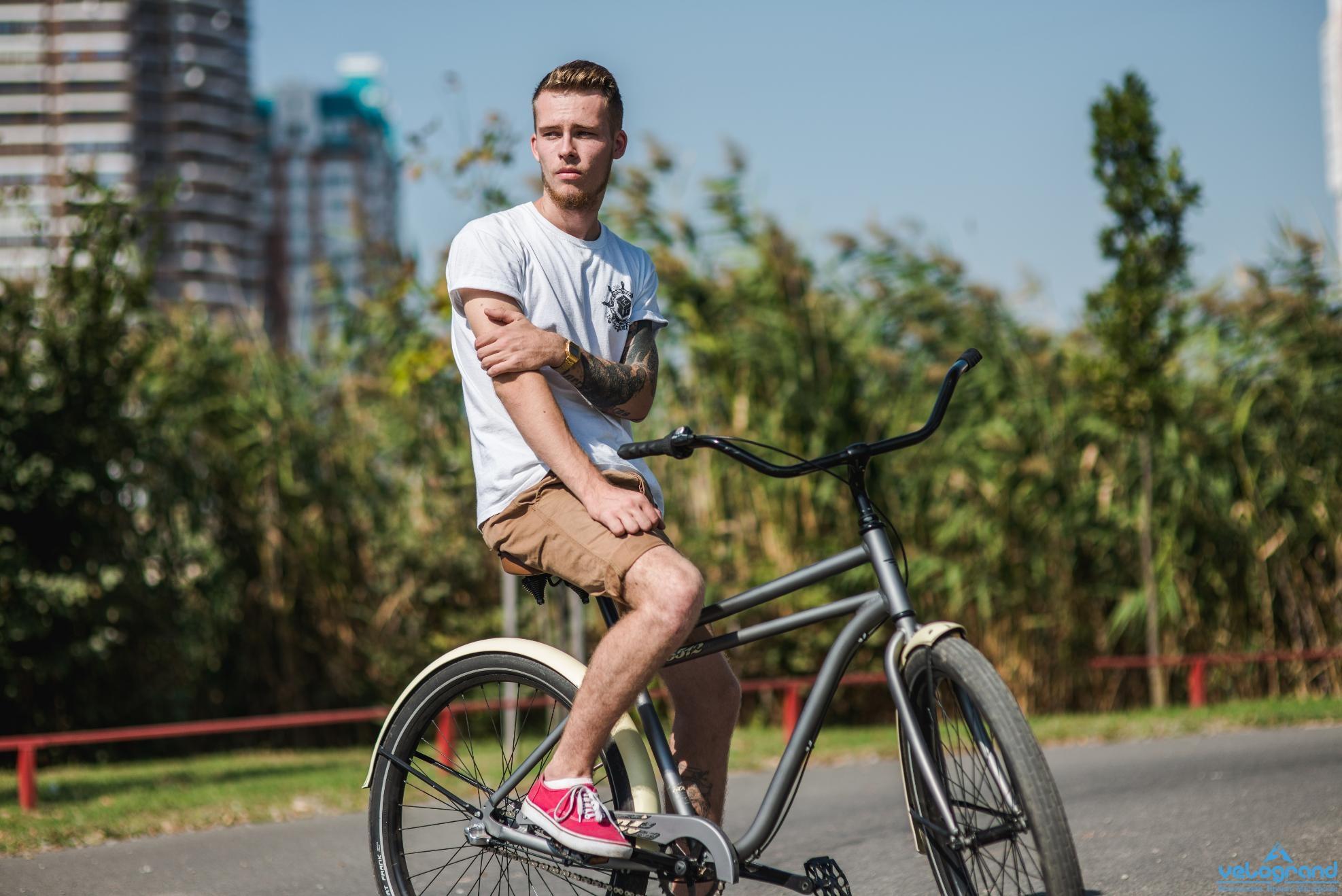 Велосипед круизер Format 5512 (2016), Цвет Серый от Velogrand