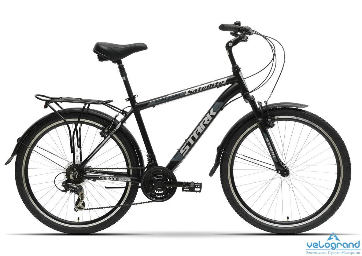 Комфортный велосипед Stark Satellite (2016) от Velogrand