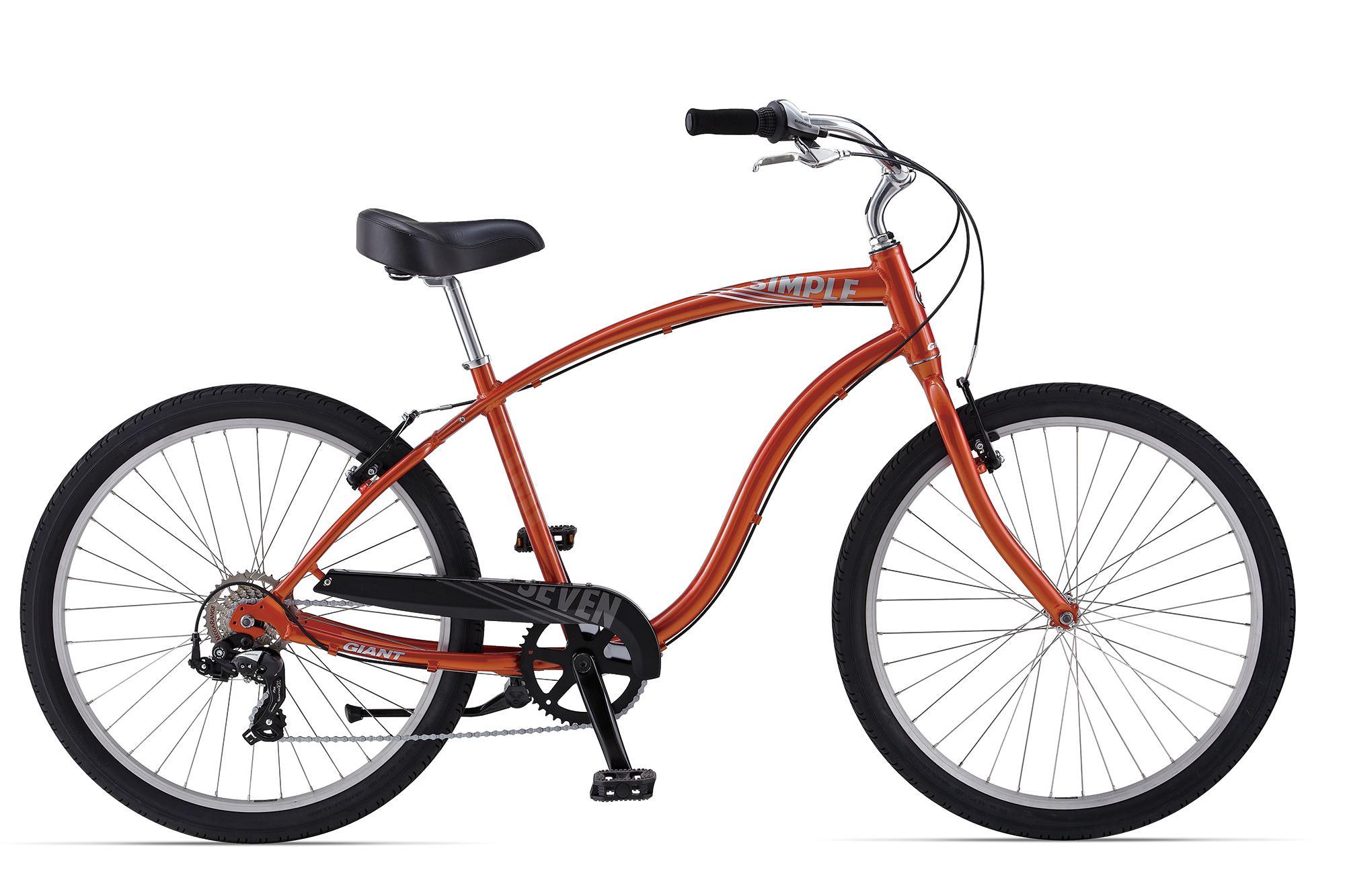 Велосипед круизер Giant Simple Seven (2014) от Velogrand