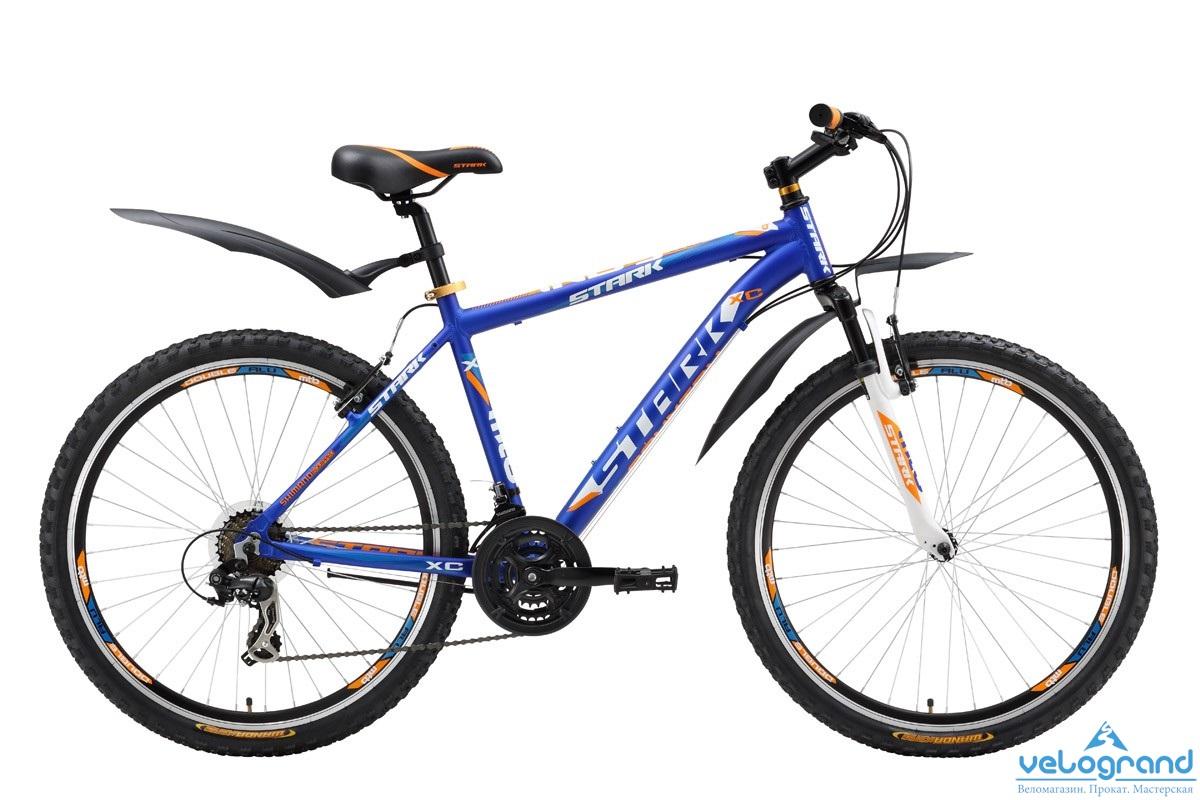 Горный велосипед Stark Indy 26 (2016), Цвет Черно-Красный, Размер 18
