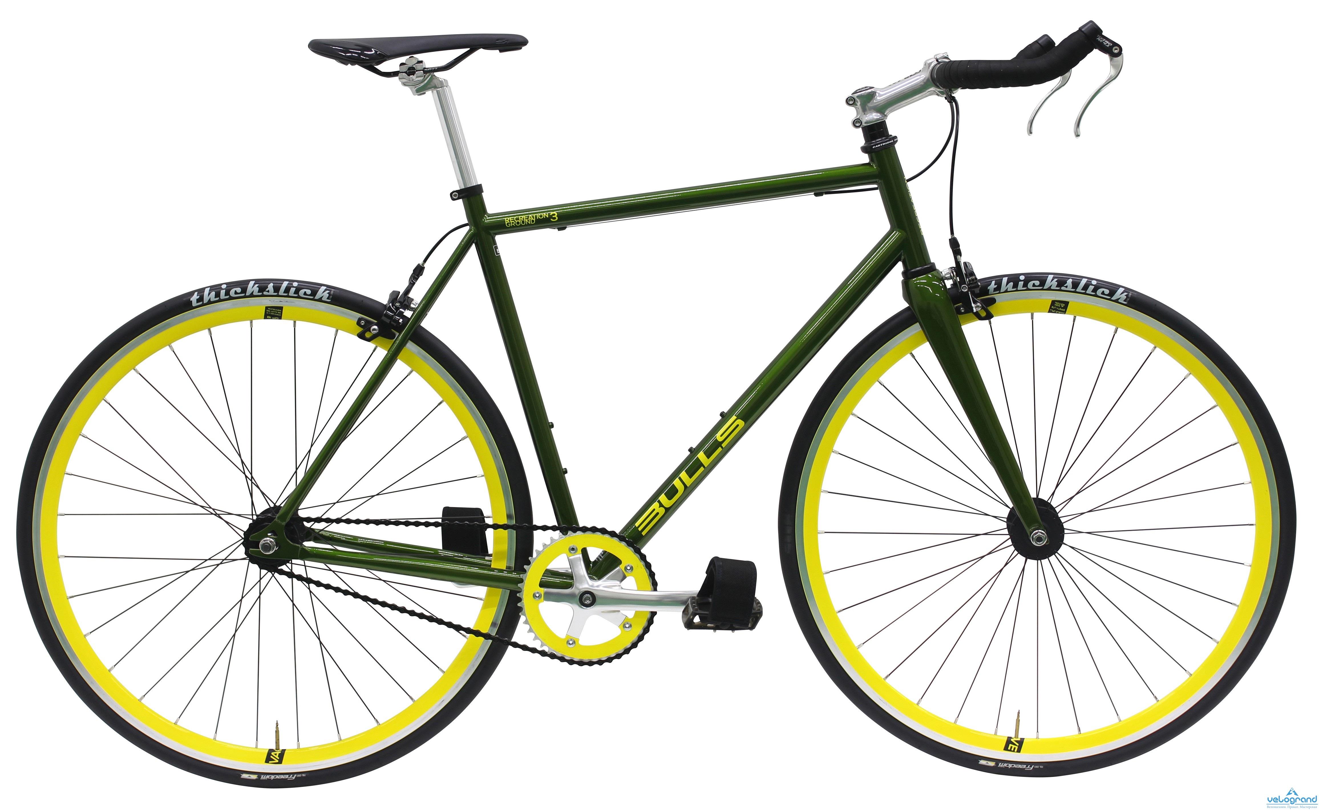 Городской велосипед Bulls RECREATION GROUND 3 (2016), Цвет Черный, Размер 21,5