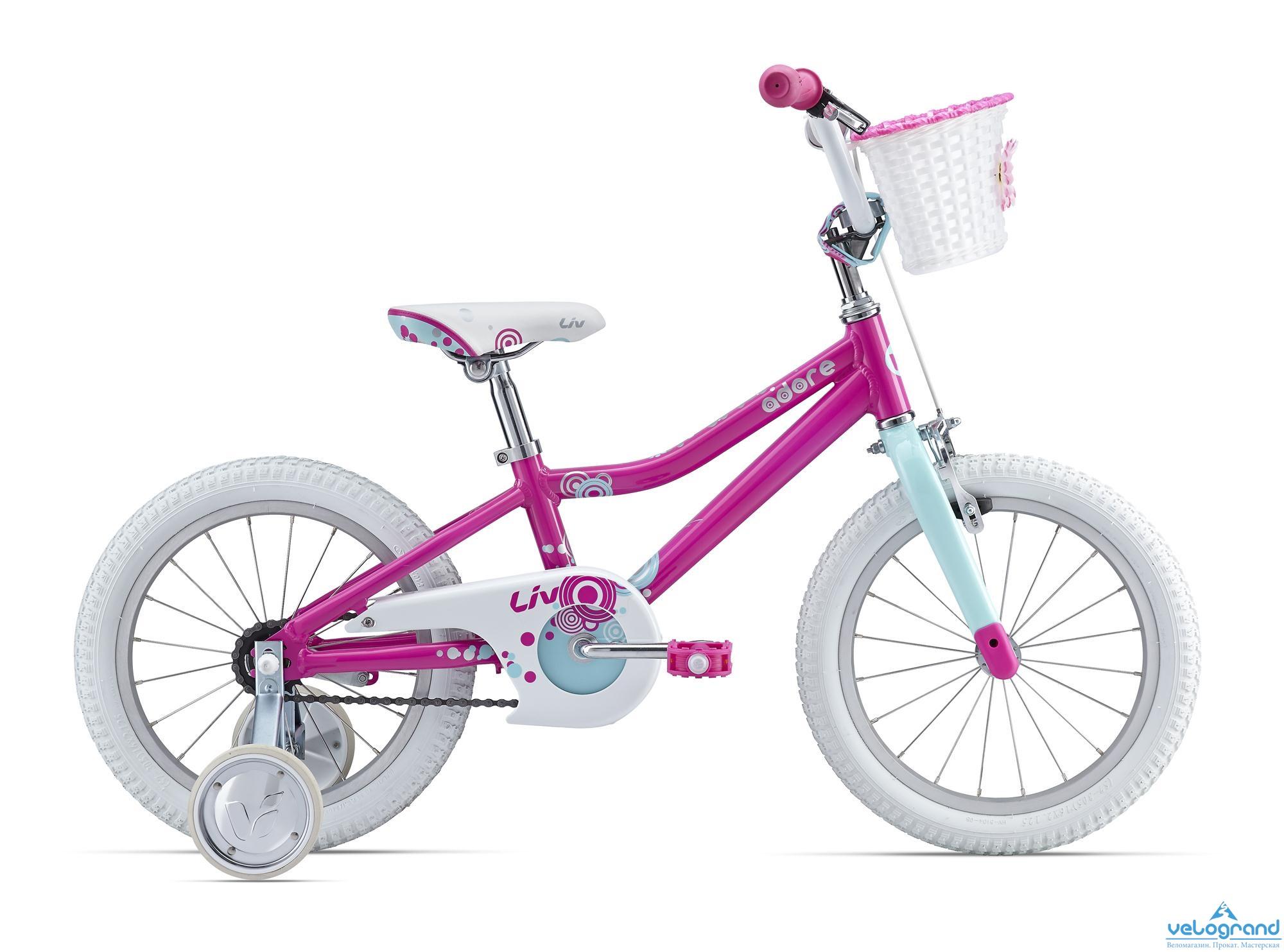 Детский велосипед Giant Adore C/B 16 (2016), Цвет Синий
