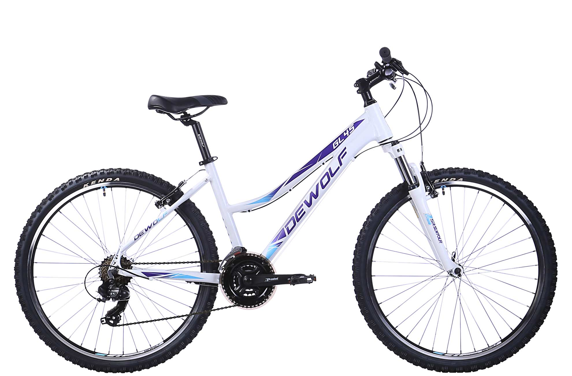 Женский велосипед DEWOLF GL 45 (2016) от Velogrand