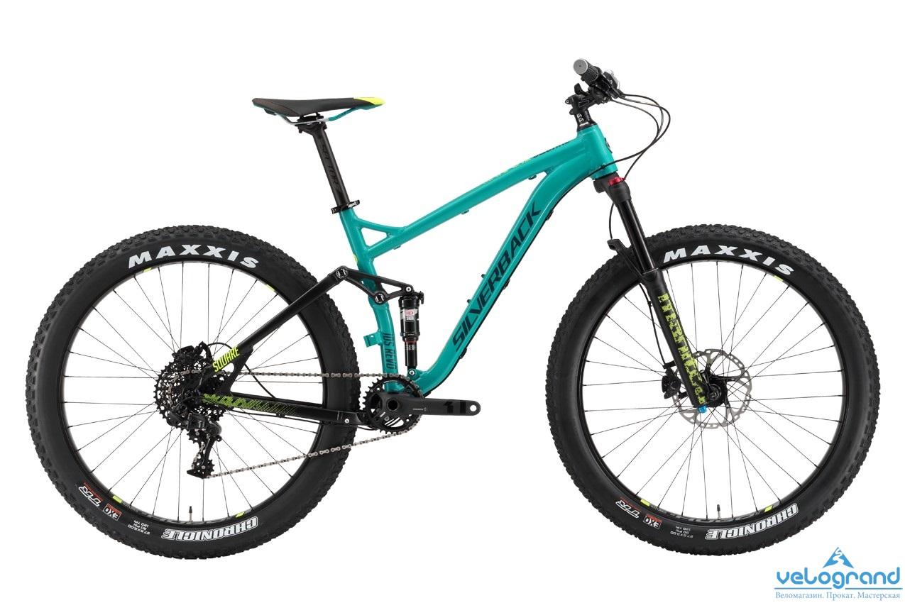 Велосипед двухподвес Silverback SQUARE (2016), Цвет Синий, Размер 18