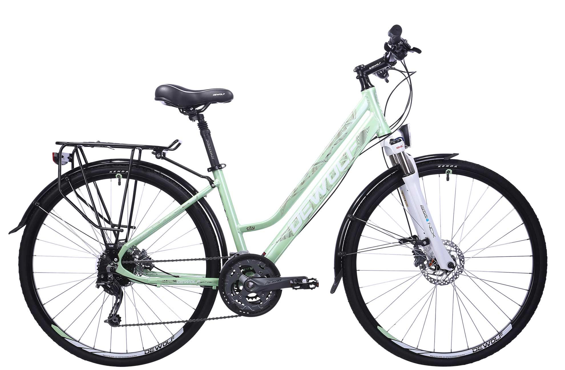 Женский велосипед DEWOLF Asphalt F1 (2016) от Velogrand