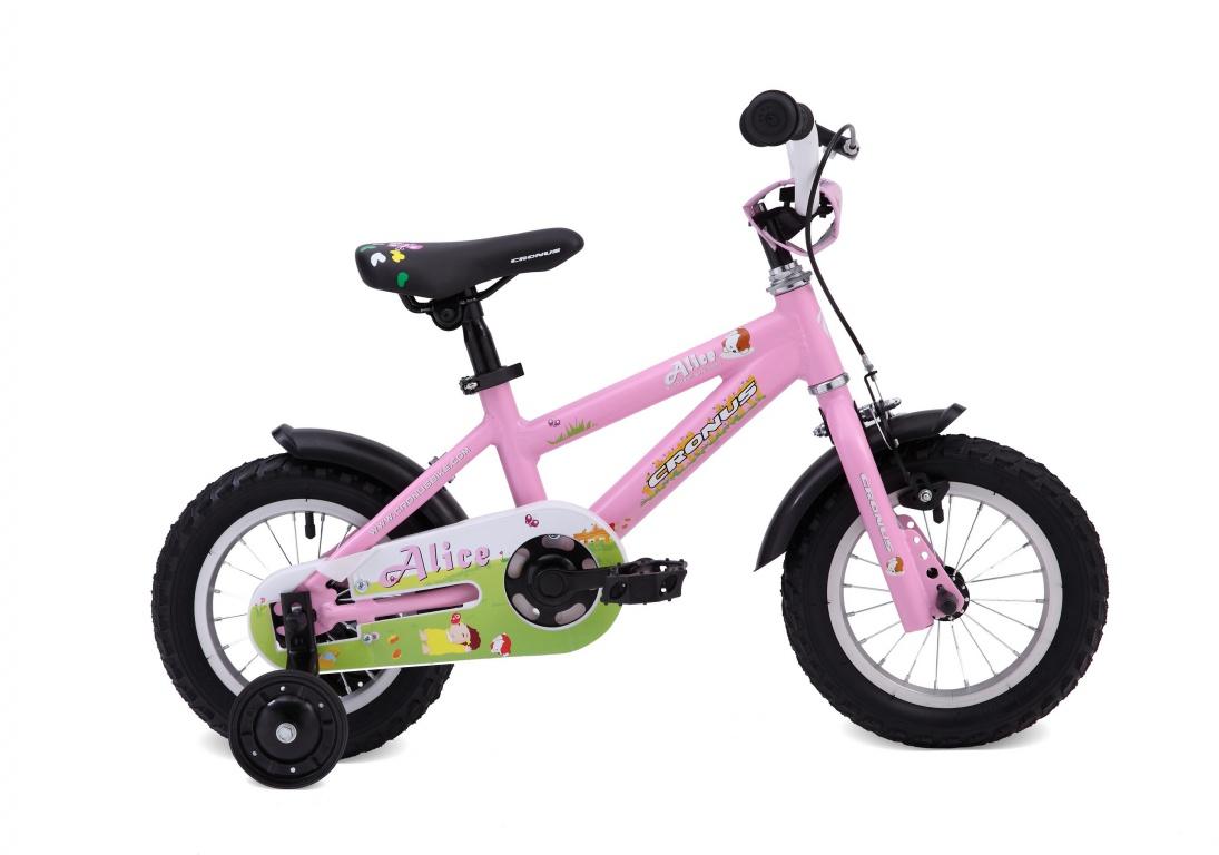 Детский велосипед Cronus ALICE 12 (2016), Цвет Розовый, Размер 8