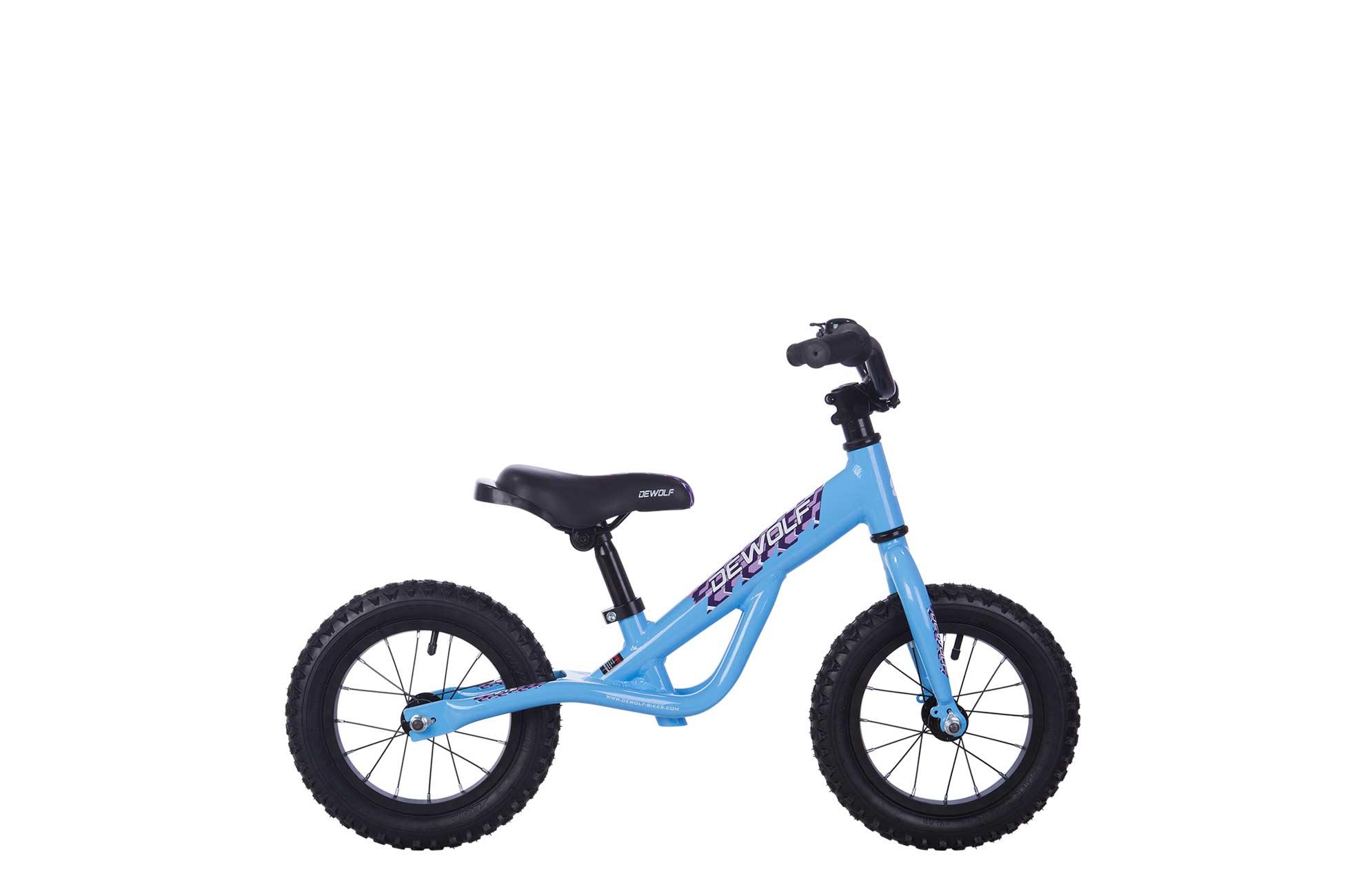 Детский велосипед DEWOLF J12 BOY (2016), Цвет Голубой