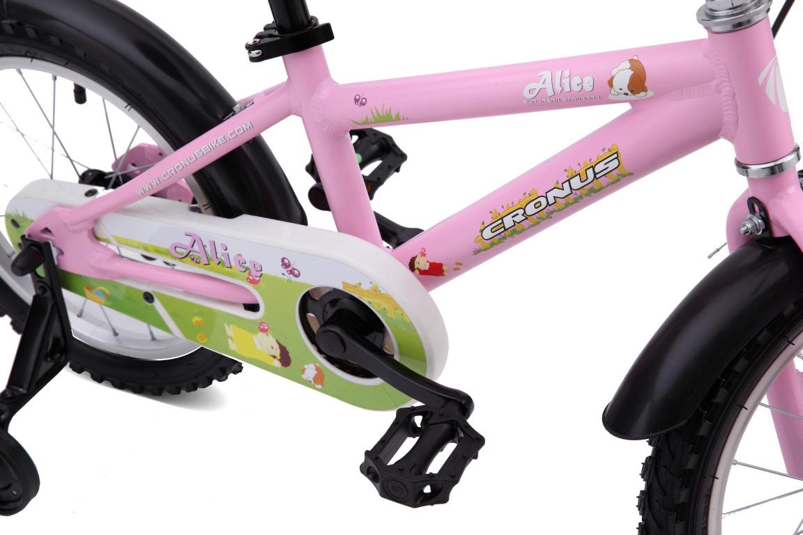 Детский велосипед Cronus ALICE 16 (2016), Цвет Розовый, Размер 9 от Velogrand