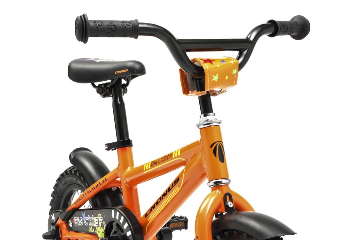 Детский велосипед Cronus BIG CHIEF 12 (2016), Цвет Оранжевый, Размер 8 от Velogrand