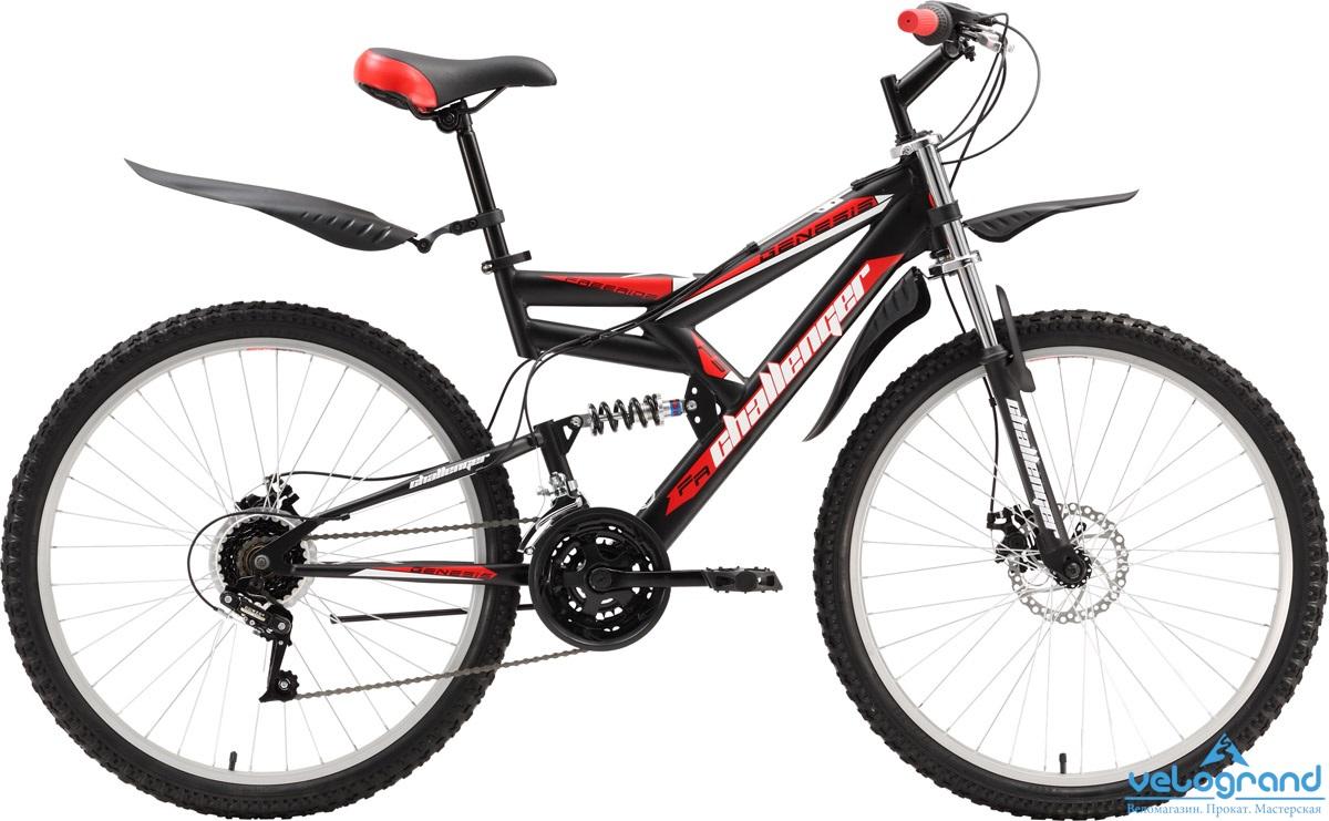 Велосипед двухподвес Challenger Genesis (2016)