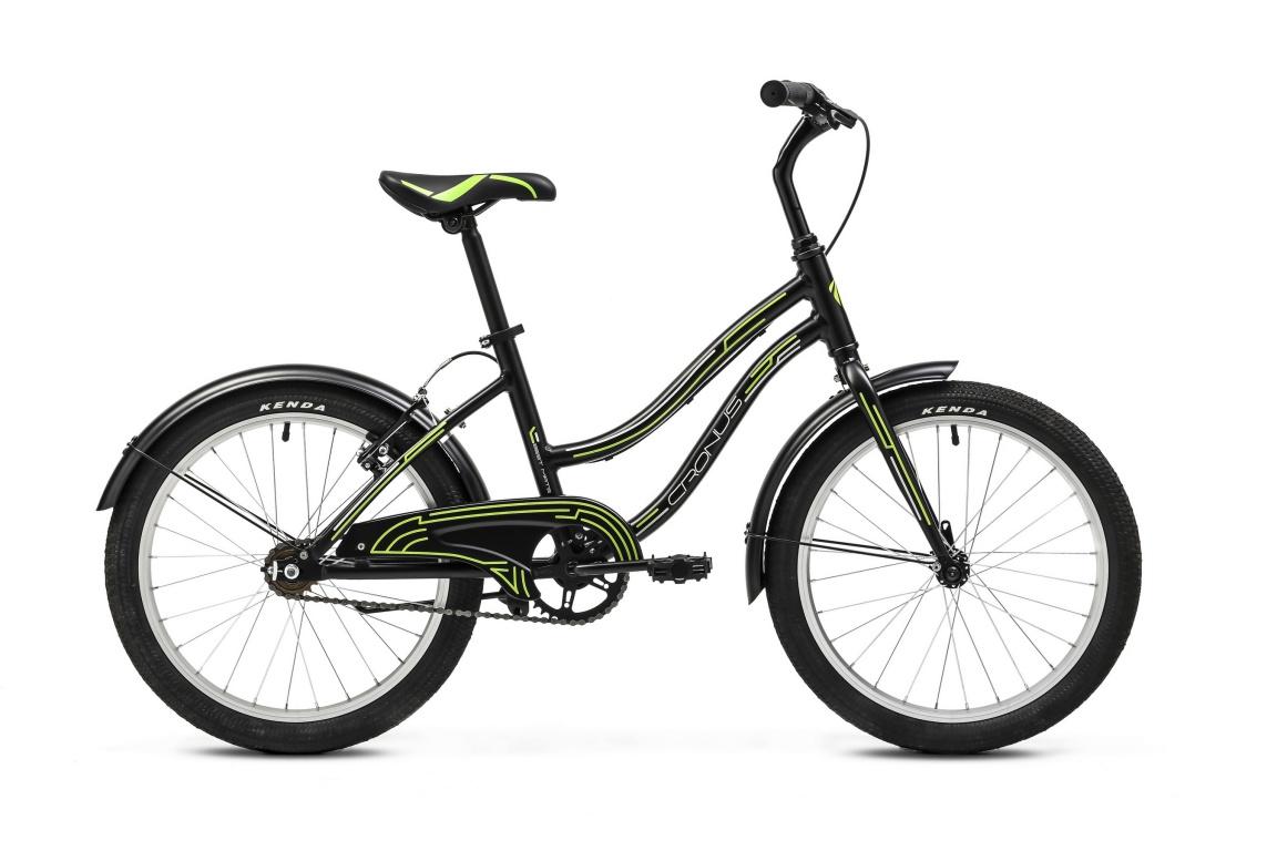Детский велосипед Cronus BEST MATE 20 RIGID FORK BOY (2016), Цвет Черно-Зеленый, Размер 13