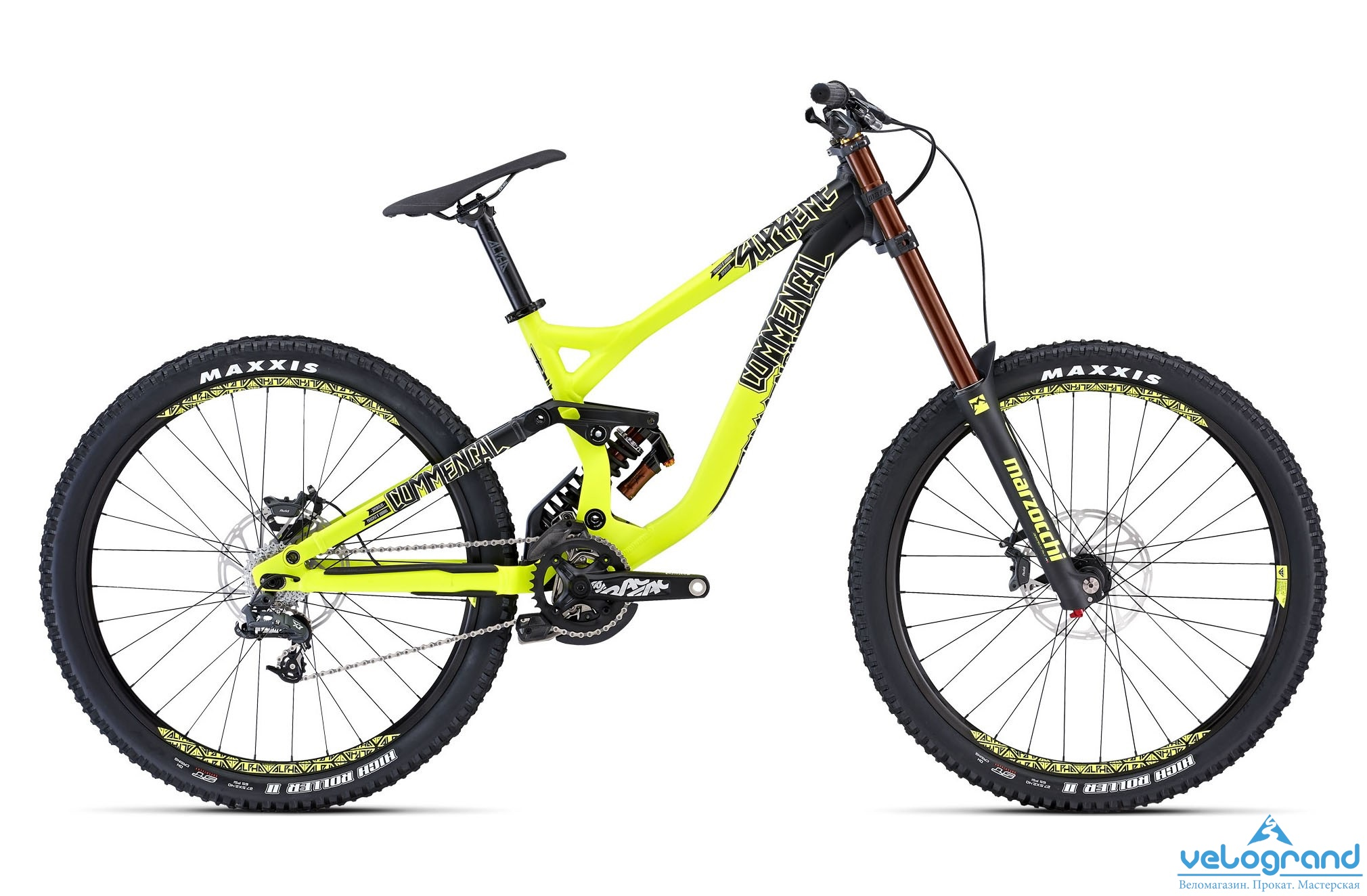 Велосипед двухподвес Commencal Supreme DH ORIGIN 650b (2015) от Velogrand