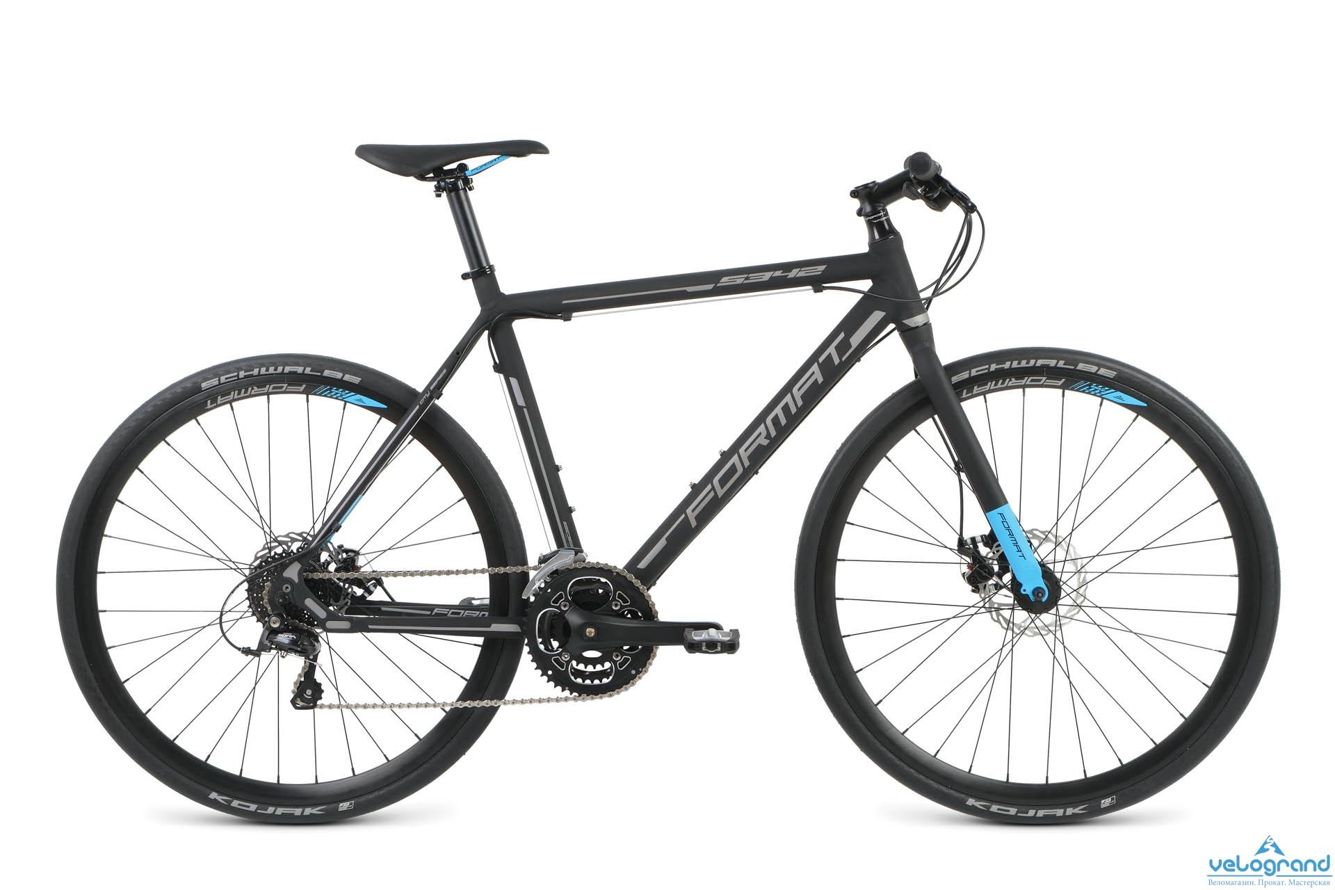 Городской велосипед Format 5342 (2016), Цвет Черный, Размер 23