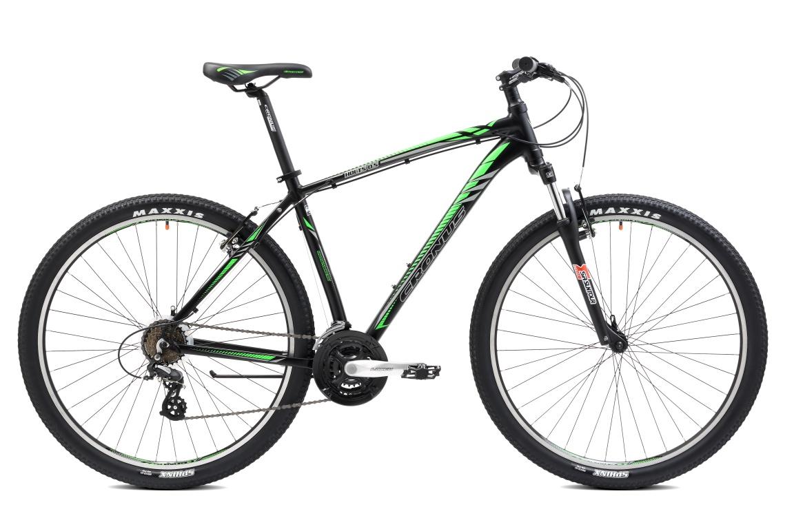 Горный велосипед Cronus HOLTS 0.5 29 (2016), Цвет Черно-Зеленый, Размер 21