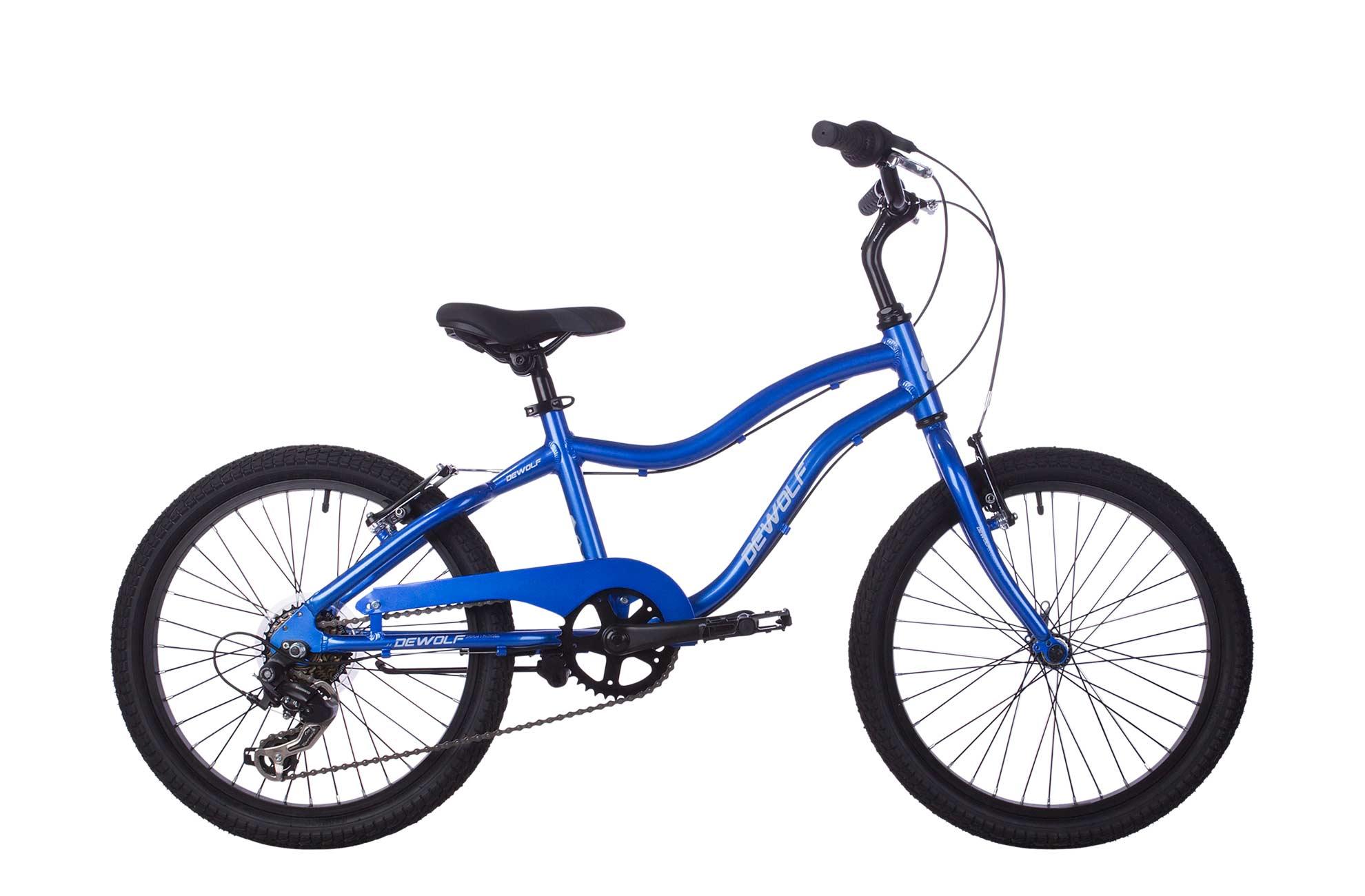 Детский велосипед DEWOLF SAND 200 (2016), Цвет Синий