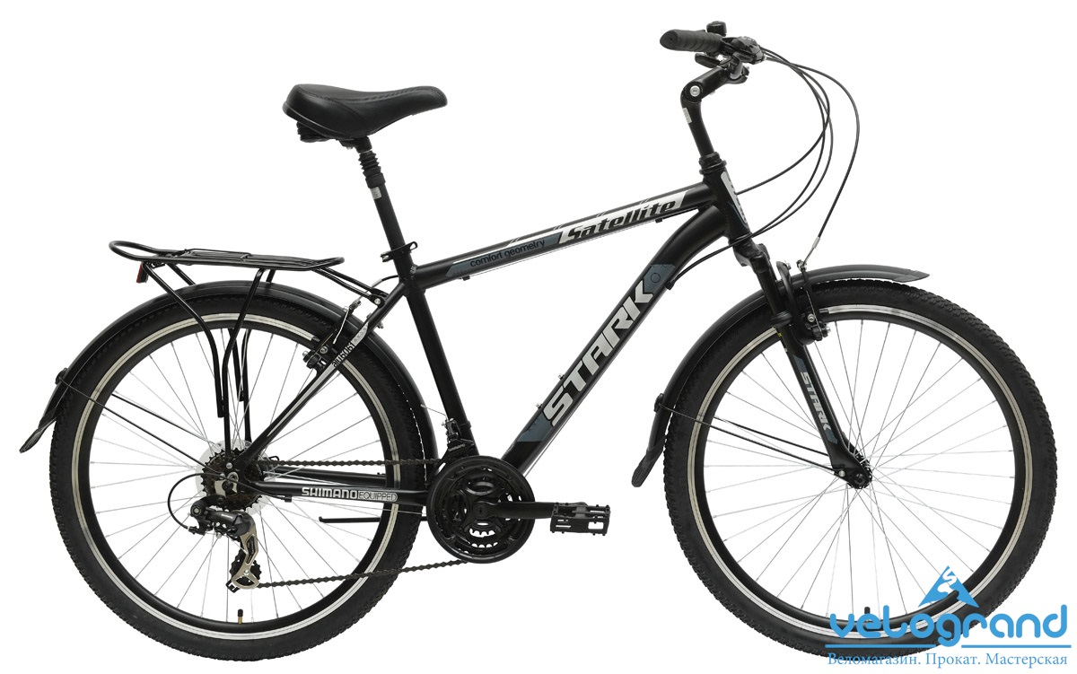 Комфортный велосипед Stark Satellite Man (2015) от Velogrand
