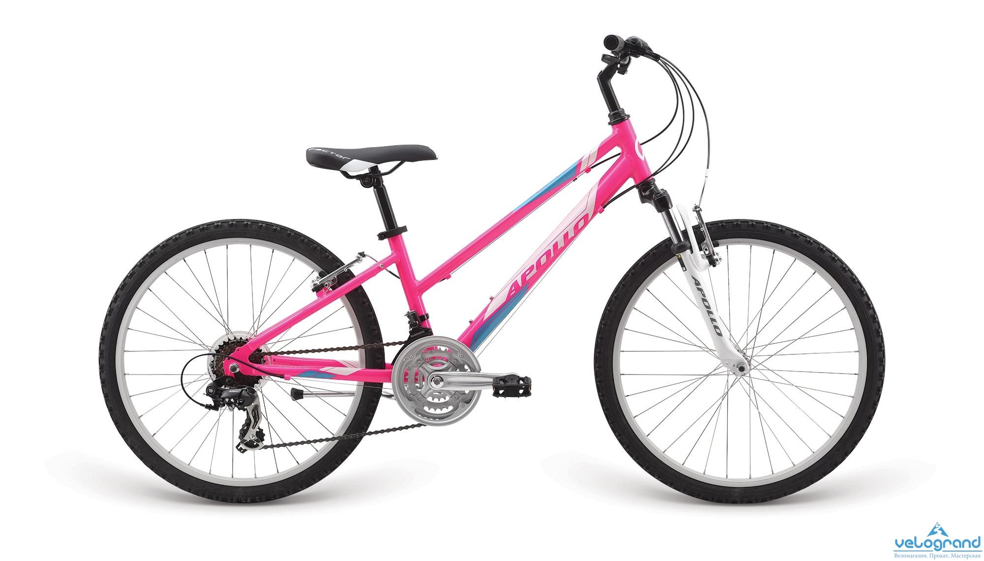 Подростковый велосипед APOLLO VERVE 24 (2015) от Velogrand