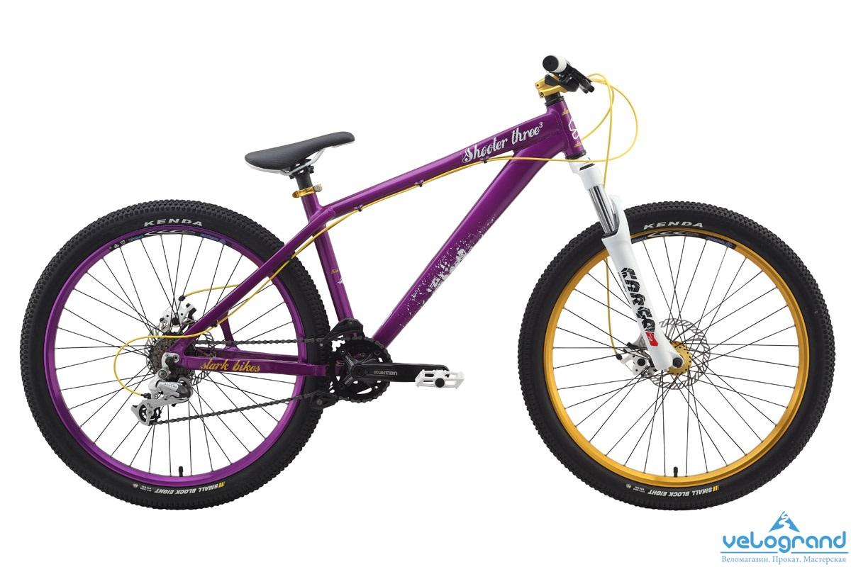 Экстремальный велосипед Stark Shooter-3 (2014) от Velogrand