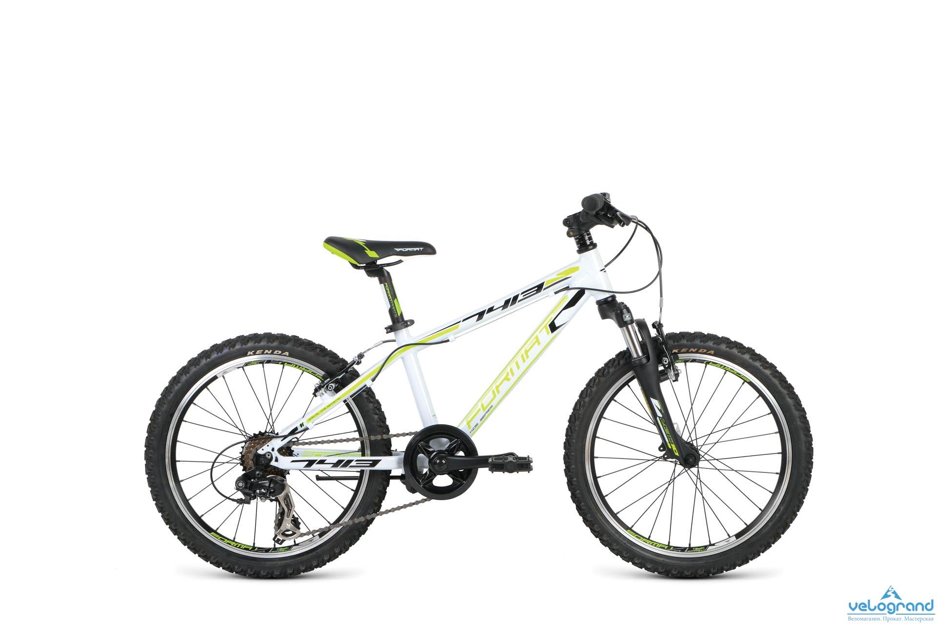 Детский велосипед Format 7413 Boy (2016), Цвет Белый