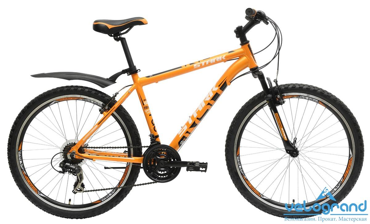 Горный велосипед Stark Indy (2015), Цвет Оранжево-Белый, Размер 16