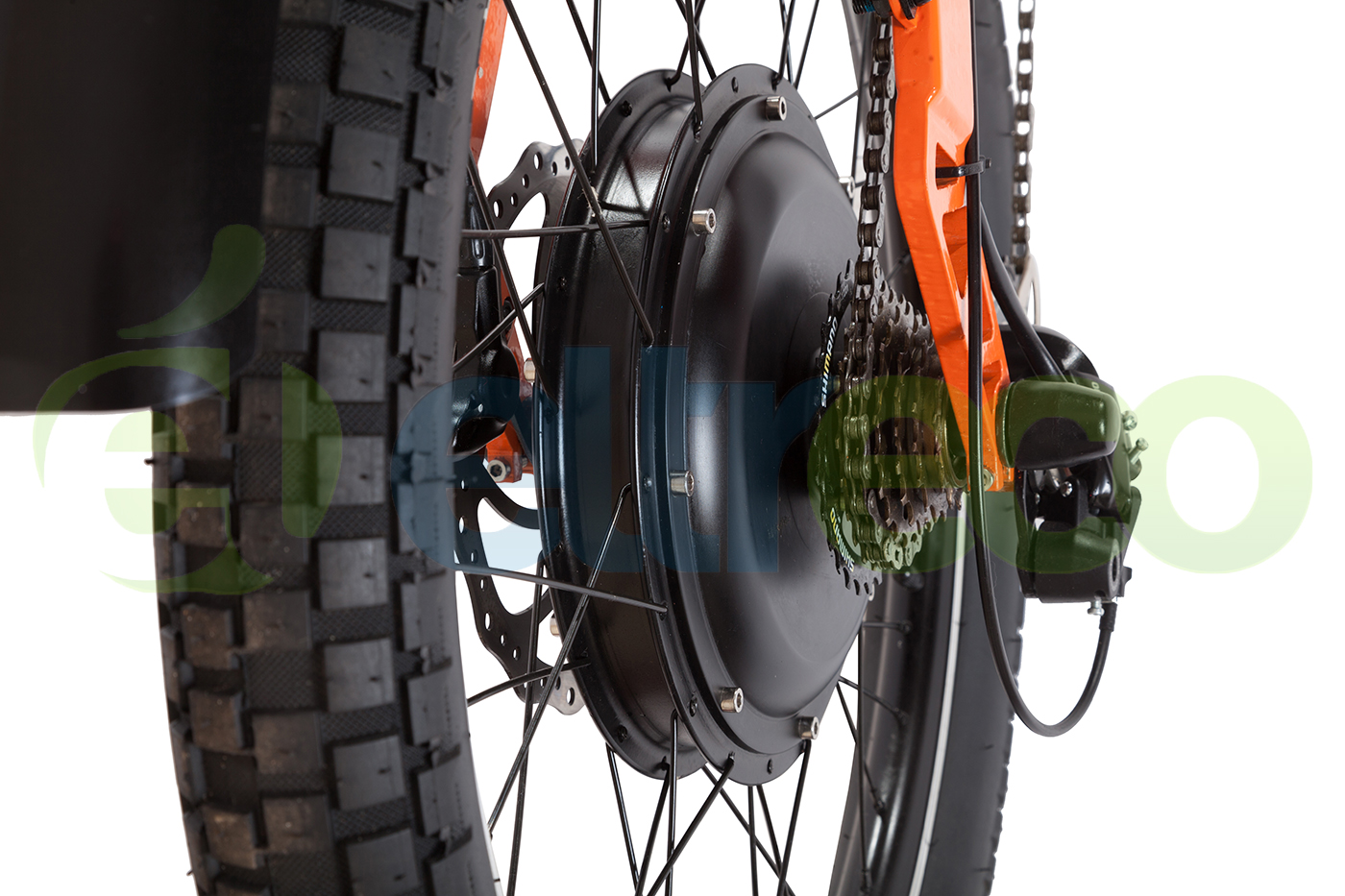 ELTRECO SPARTA NEW LUX ORANGE от Velogrand