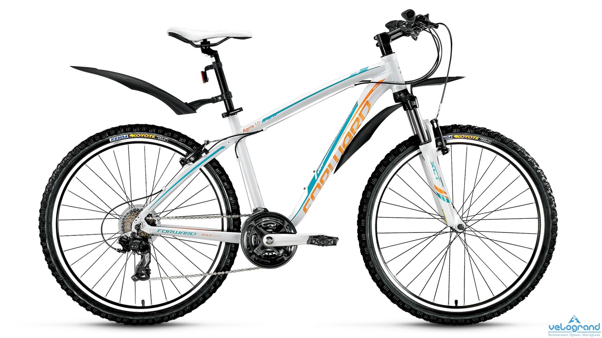 Женский велосипед Forward Agris Lady 1.0 (2016) от Velogrand