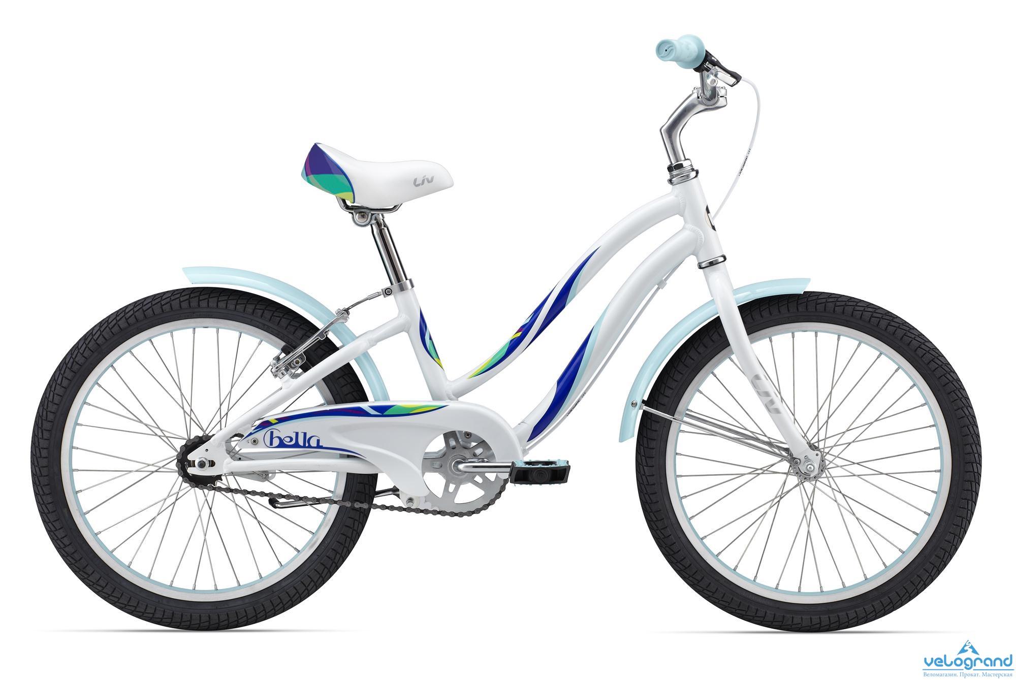 Детский велосипед Giant Bella 20 (2016), Цвет Белый