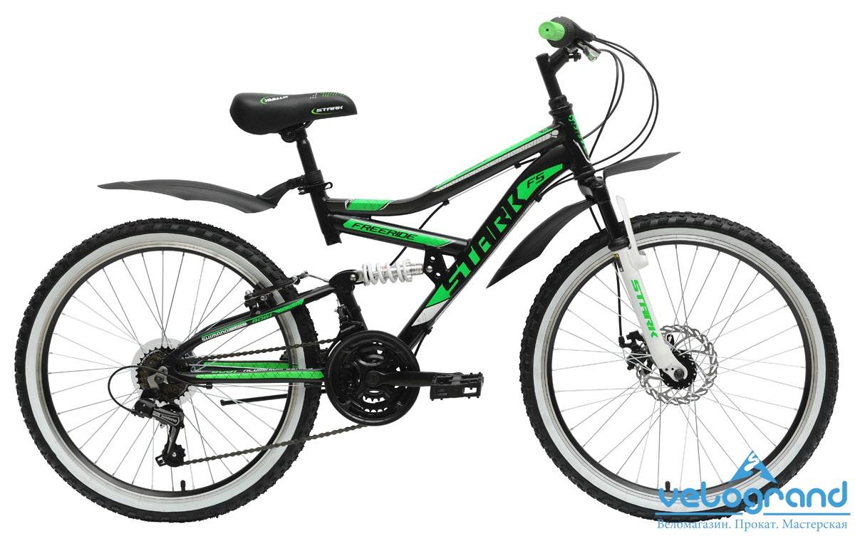 Подростковый велосипед Stark Striky Disc (2015), Цвет Черно-Красный от Velogrand