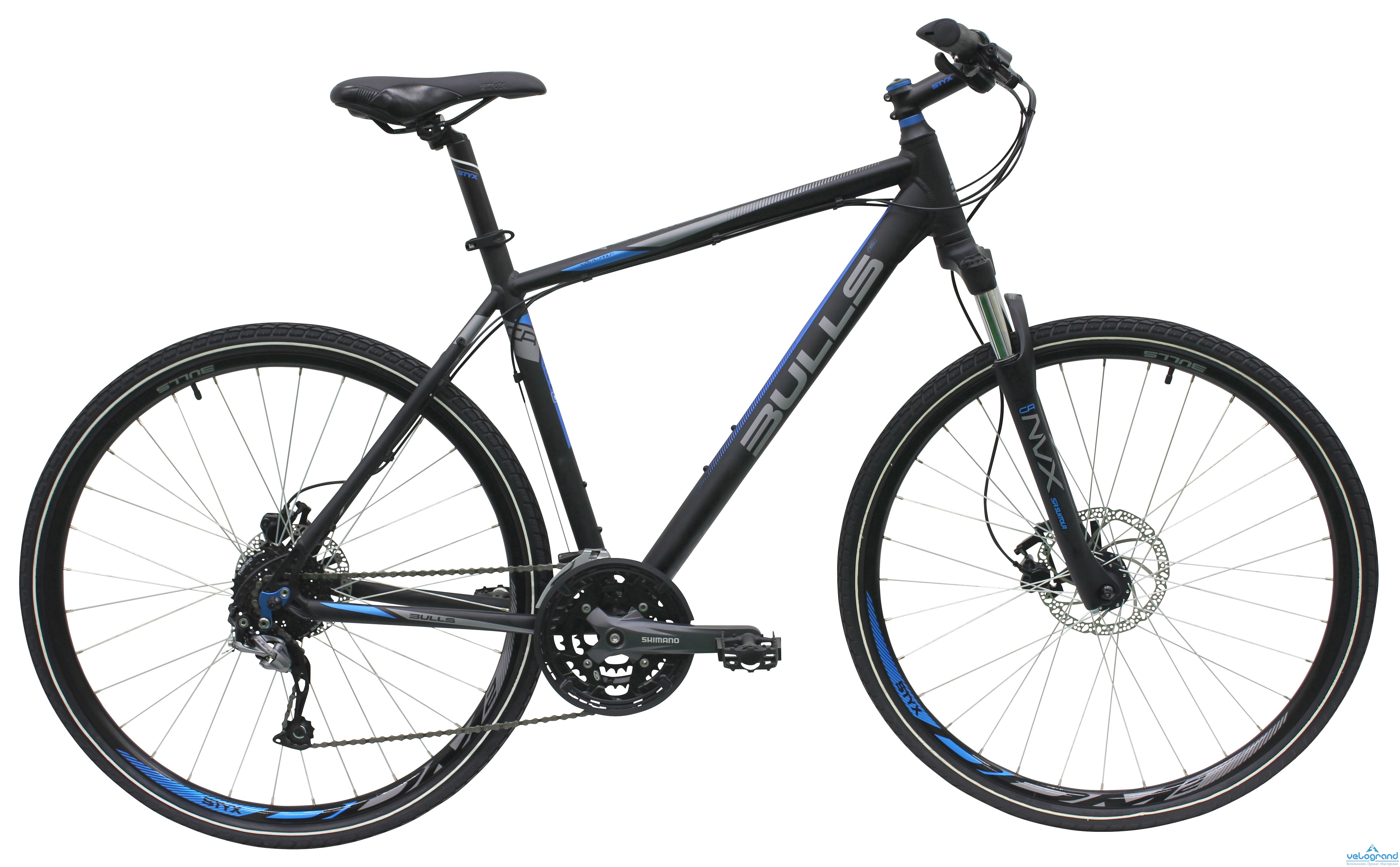 Городской велосипед Bulls Cross Bike 2 (2016), Цвет Черный, Размер 21
