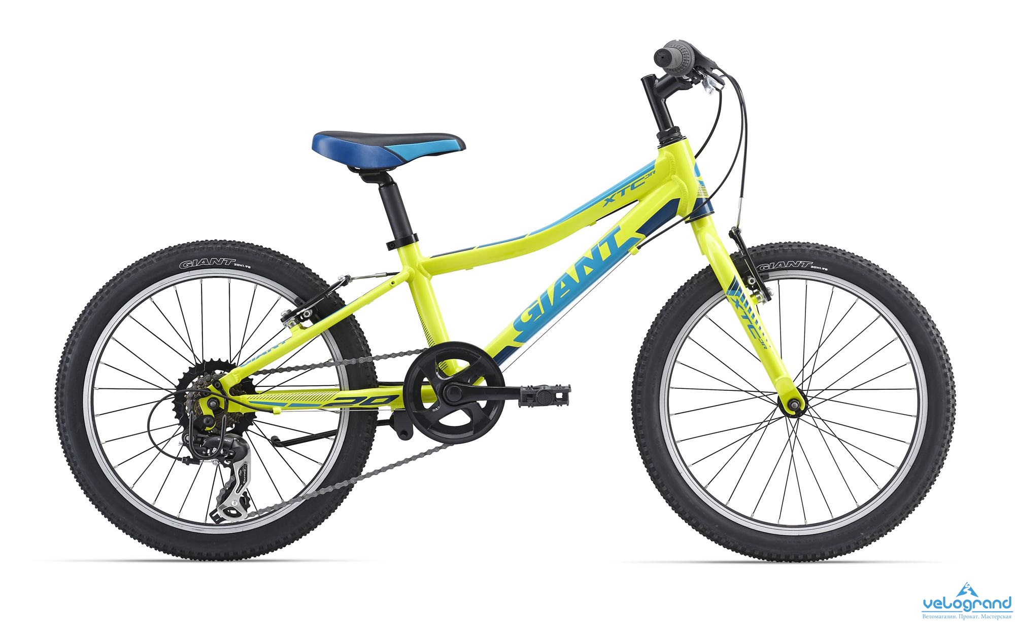 Детский велосипед Giant XTC Jr 20 Lite (2016), Цвет Зеленый