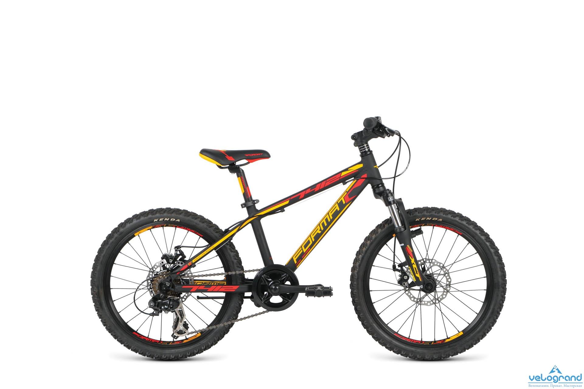 Детский велосипед Format 7412 Boy (2016), Цвет Черный
