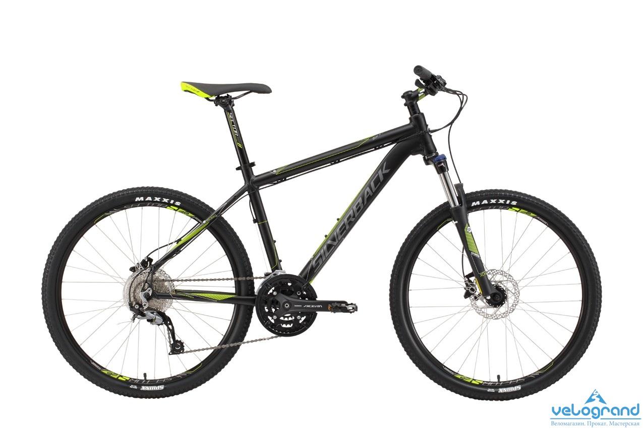 Горный велосипед Silverback Stride 10 (2016), Цвет Синий, Размер 18 от Velogrand