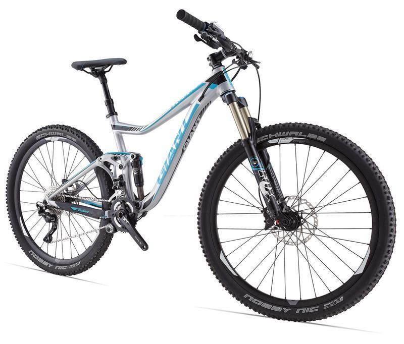 Велосипед двухподвес Giant Trance 27.5 1 (2014), Цвет Серебристый, Размер 20