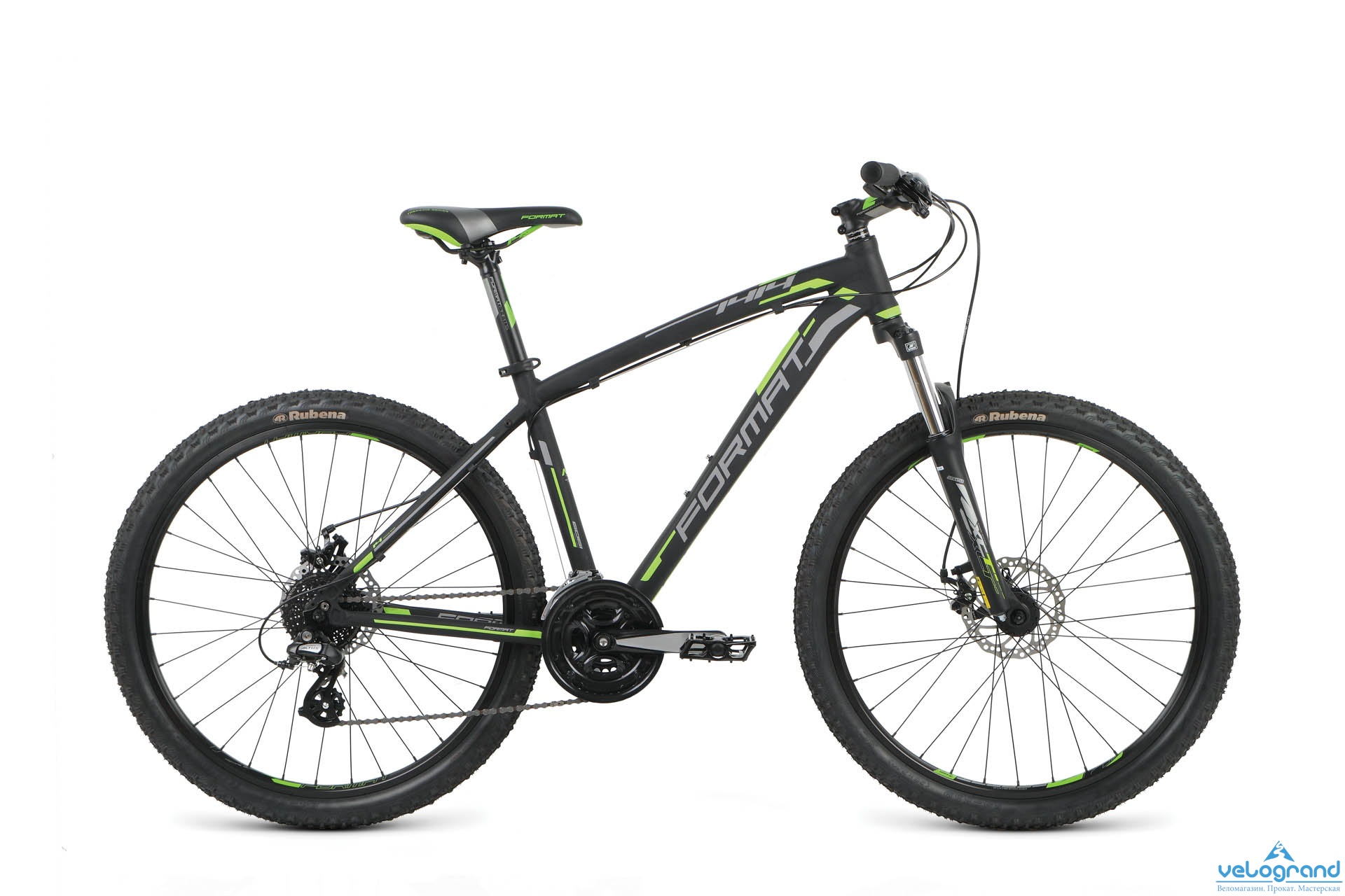 Горный велосипед Format 1414 26 (2016), Цвет Черный, Размер 20