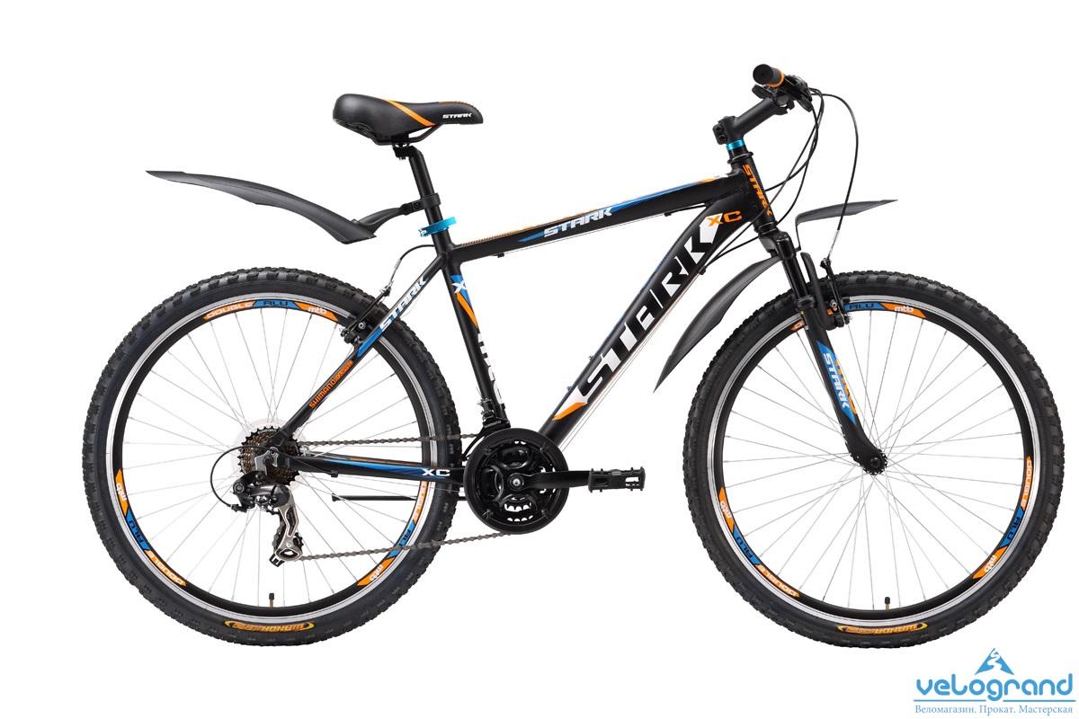 Горный велосипед Stark Hunter (2016), Цвет Сине-Зеленый, Размер 20