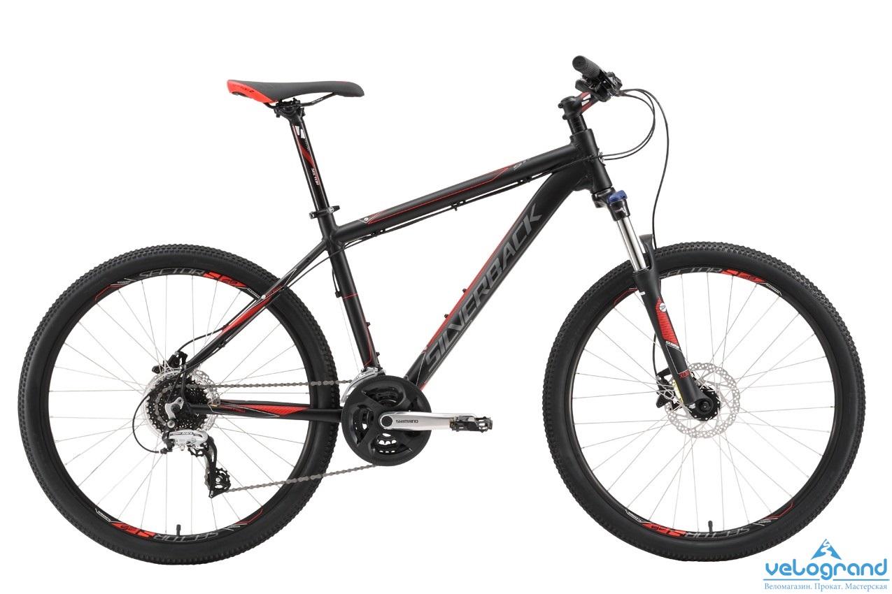 Горный велосипед Silverback Stride 15 (2016), Цвет Черный, Размер 18 от Velogrand