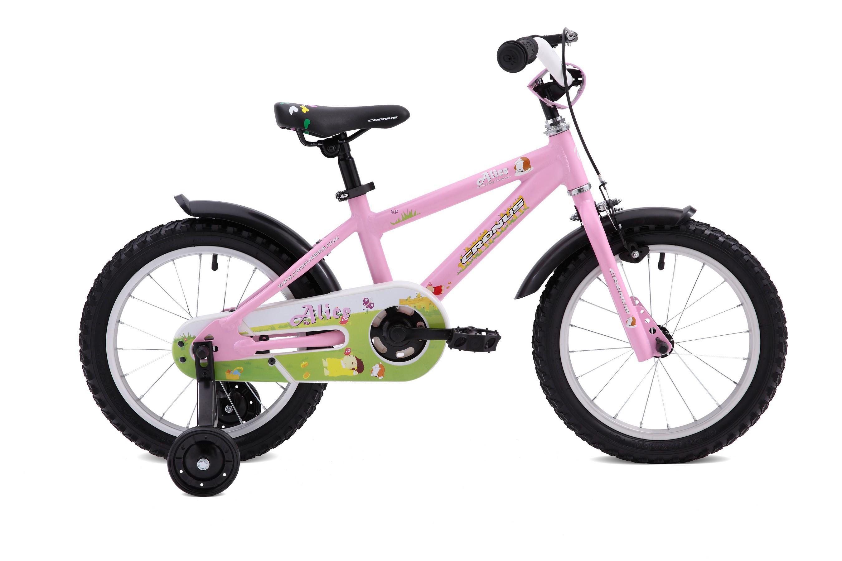 Детский велосипед Cronus ALICE 16 (2016), Цвет Розовый, Размер 9