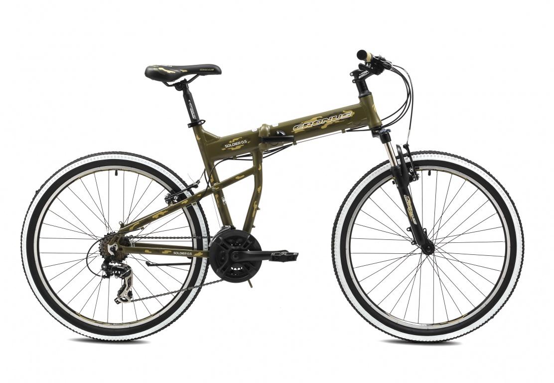 Складной велосипед Cronus SOLDIER 0.5 26 (2016) от Velogrand
