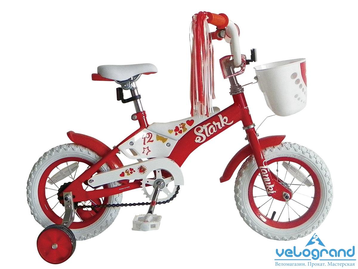 Детский велосипед Stark Tanuki 12 girl (2015), Цвет Оранжевый