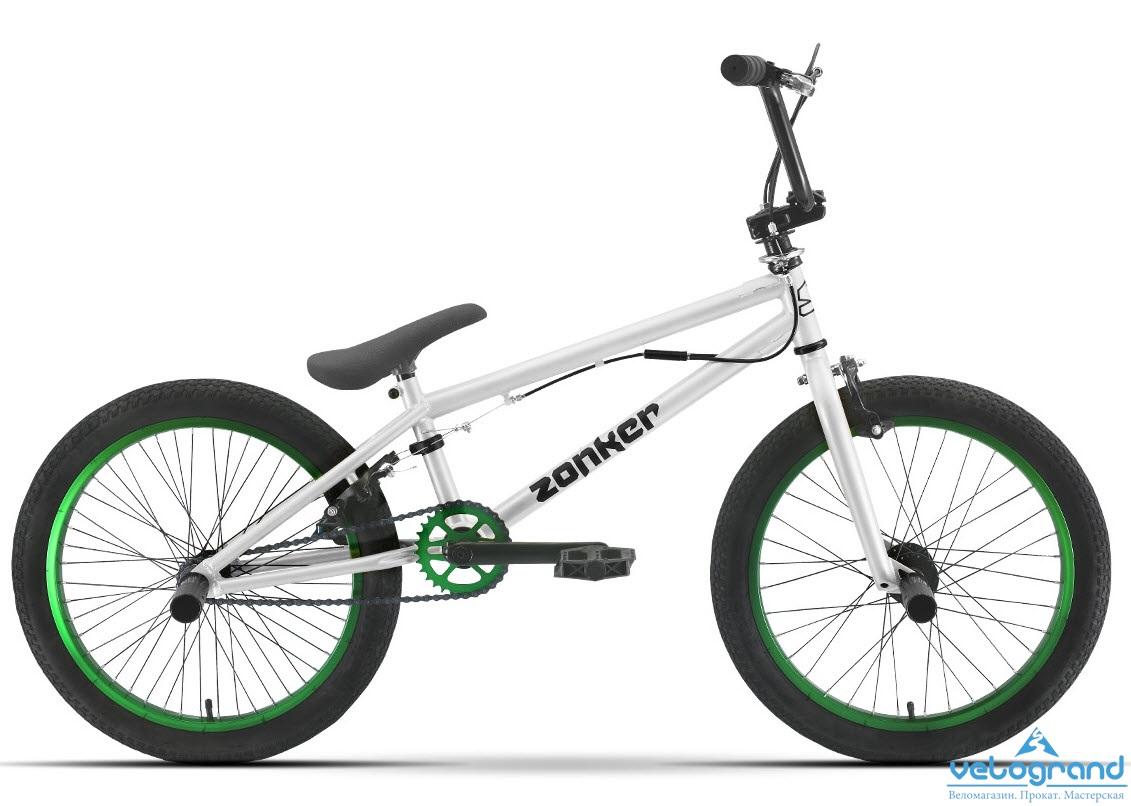 Экстремальный велосипед Stark Zonker (2016), Цвет Серебристо-Черный от Velogrand