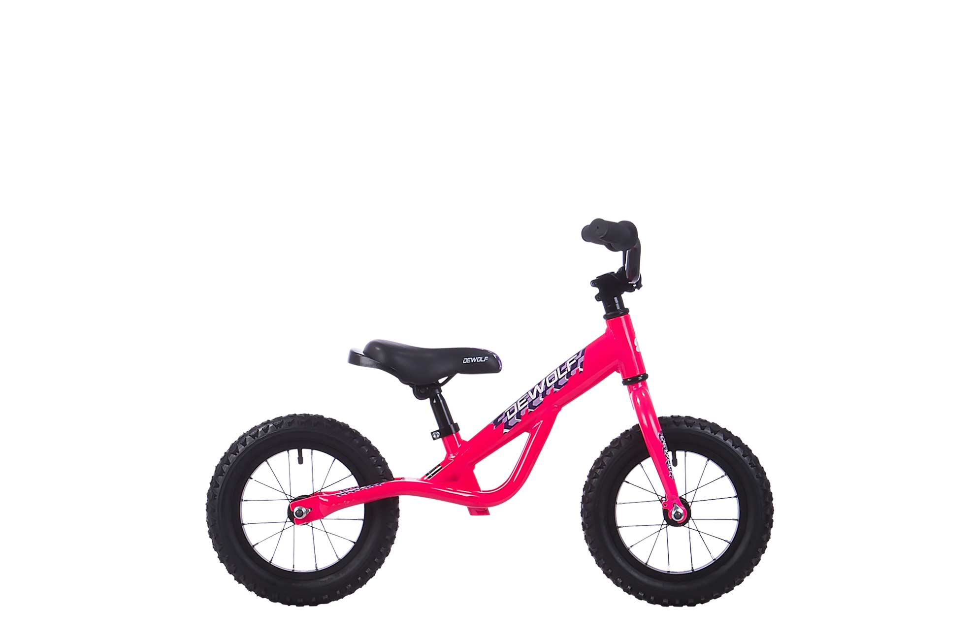 Детский велосипед DEWOLF J12 GIRL (2016), Цвет Розовый
